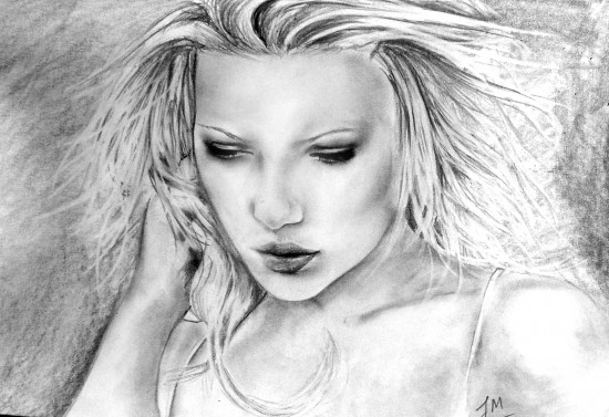 Scarlett Johansson by Julie
